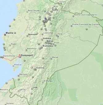 Ecuador Geocaches
